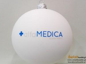 advertising balls alfa MEDICA with logo