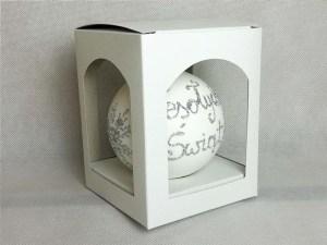 pudełko na bombkę, opakowanie na bombkę