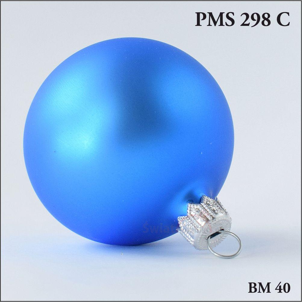 Bombki choinkowe niebieskie, producent bombek