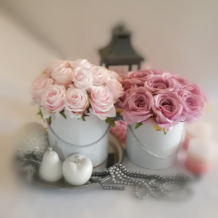 Flower box Blady róż