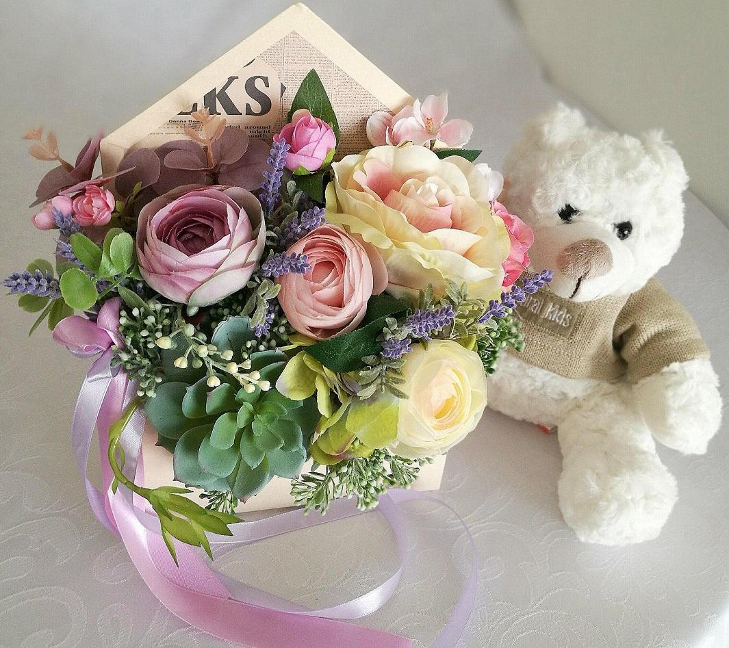 flower box koperta