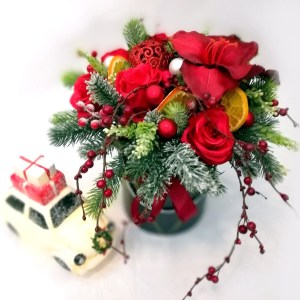 Flower box Czerwień na święta nr. 107