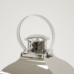 Srebrne Lampiony metalowe