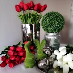 Czerwone tulipany 15 sztuk, Czerwone tulipany bukiet