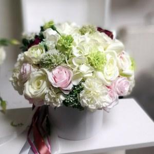 Flower box w bieli nr. 142