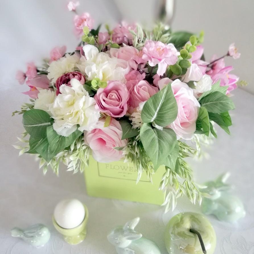 Flowerbox Wiosenne pastele nr. 197