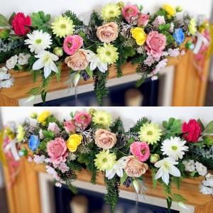 Girlanda kwiatowa Cudowny maj