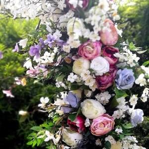 Okrąg kwiatowy Czerwcowy wieczór