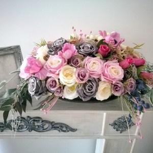 Kompozycja kwiatowa Różowy świt nr. 222