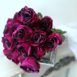 Bukiet fioletowych róż nr. 225