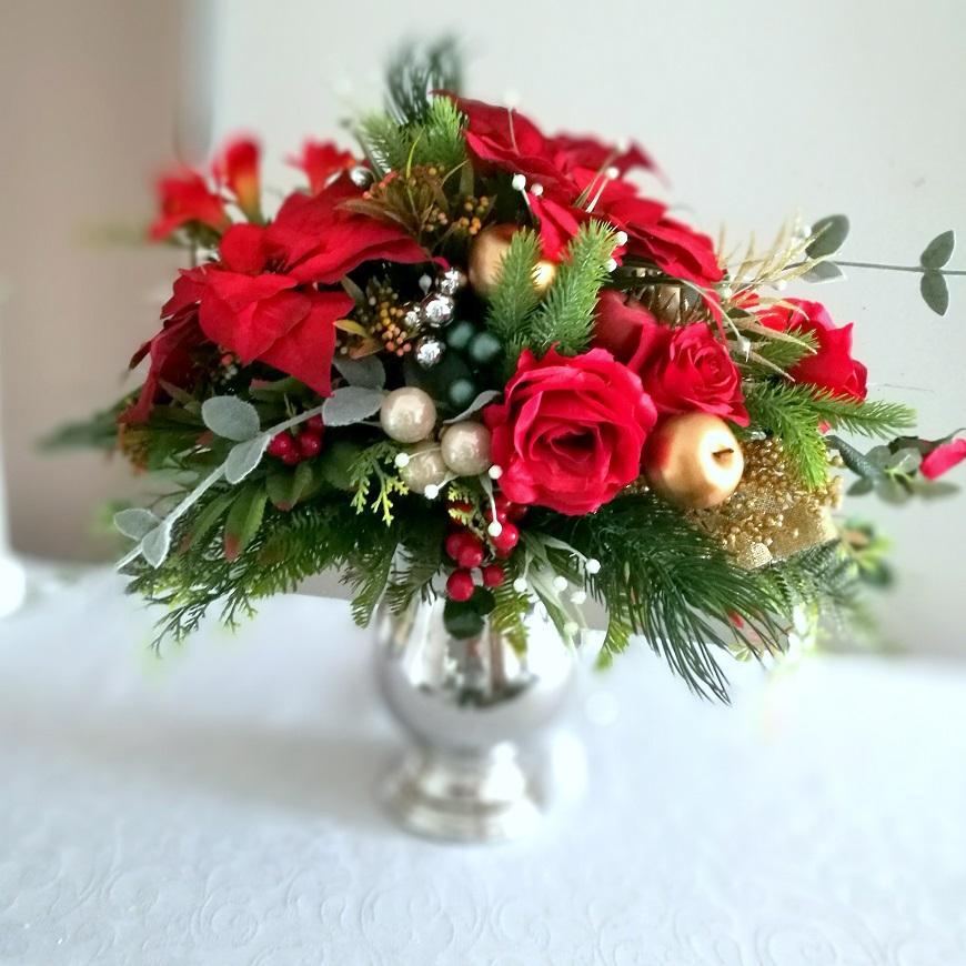 Klasyczna dekoracja świąteczna nr 268