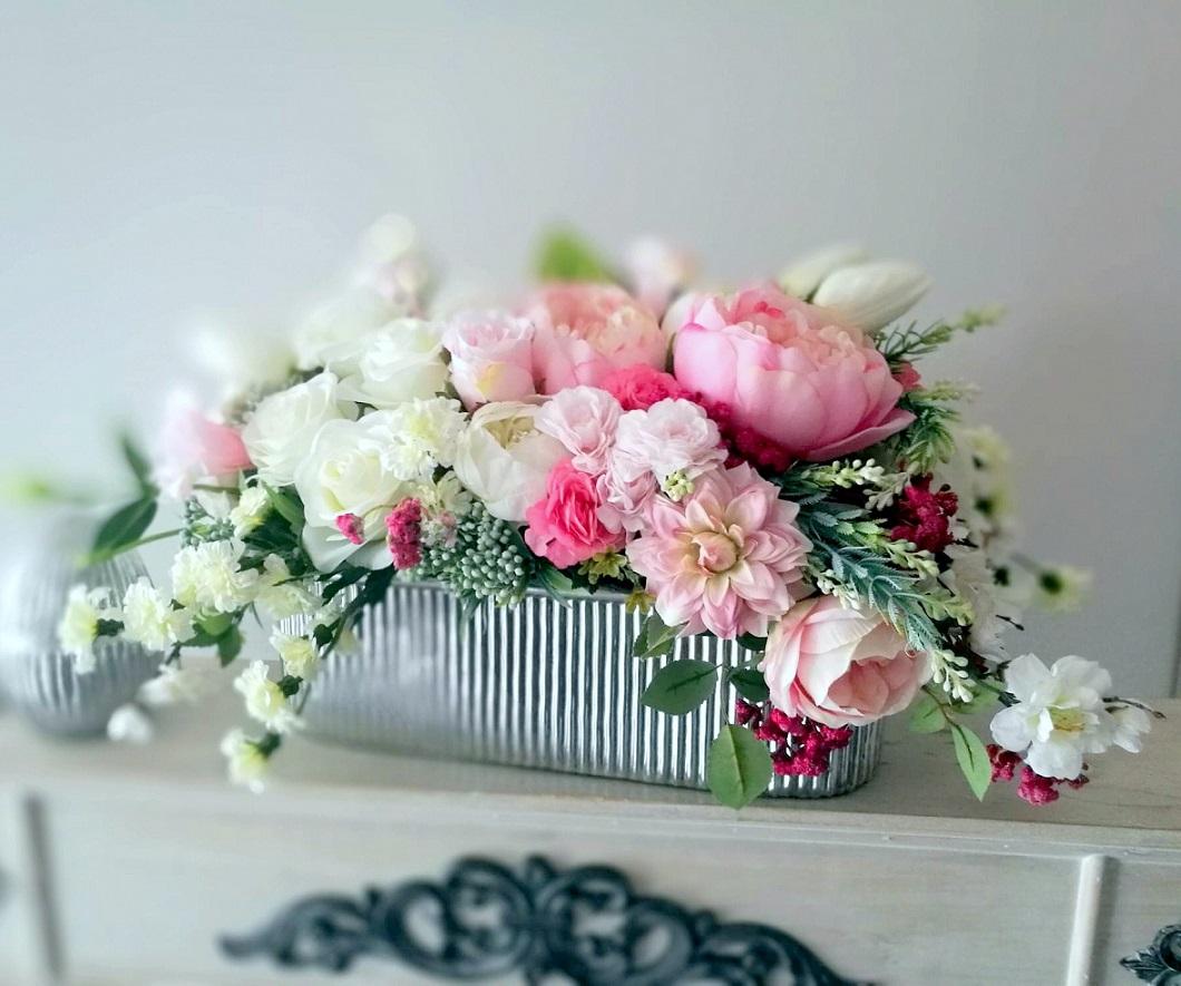 Dekoracja kwiatowa Wiosenny wieczór nr 298