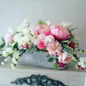 Dekoracja kwiatowa Wiosenny wieczór nr. 298