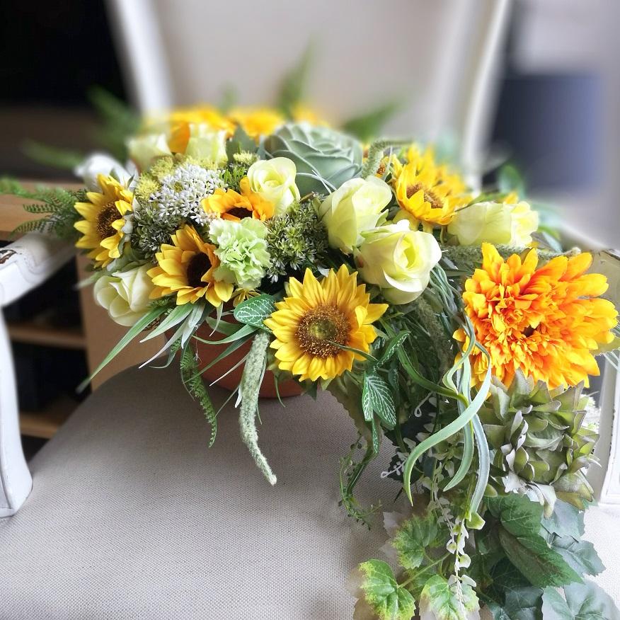 Dekoracja kwiatowa Sierpień nr 297