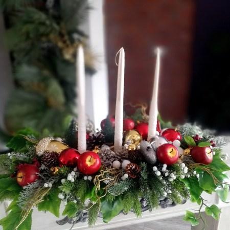 klimatyczne dekoracje świąteczne
