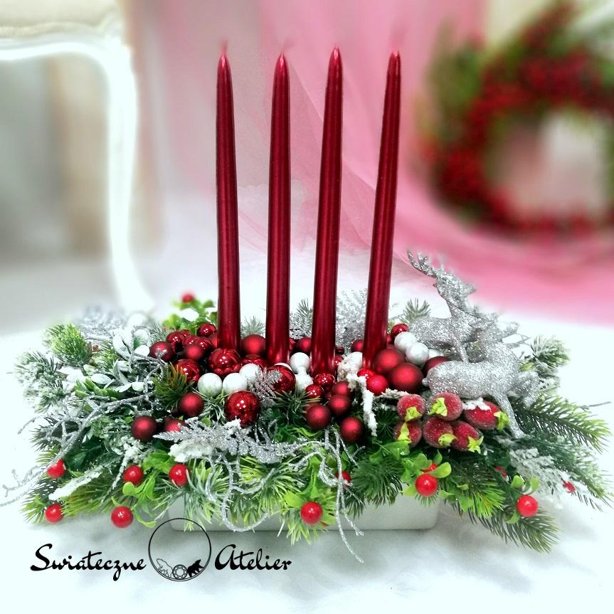 Adwentowy Stroik świąteczny Magia nr 379