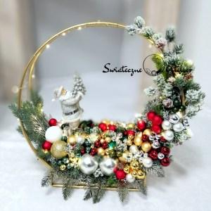 Dekoracja świąteczna Klasyczne Święta nr 402
