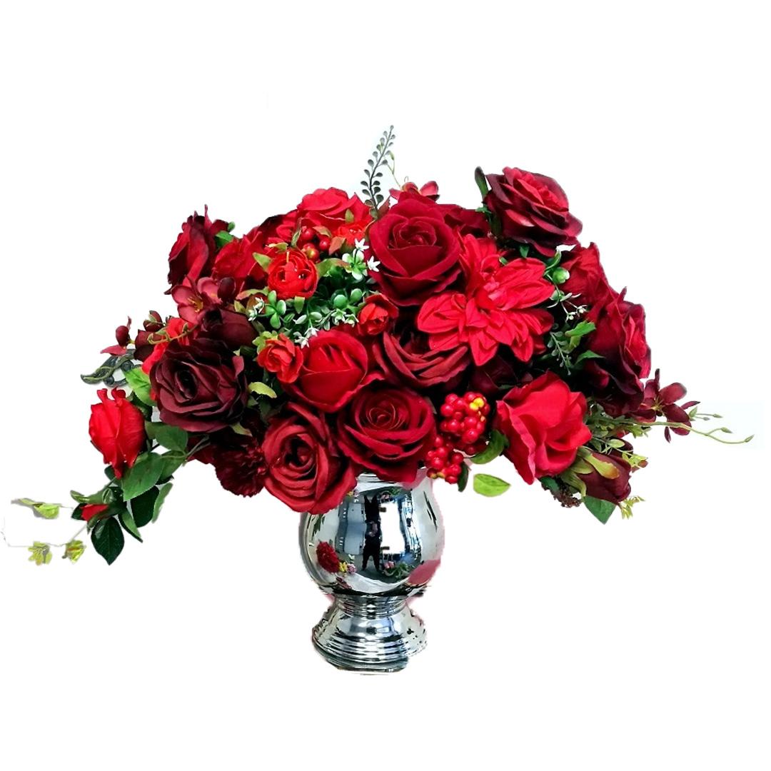 Kompozycja kwiatowa Gorące serce