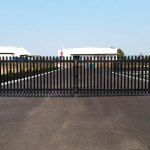 ultra palisade security fencing foodbank wa