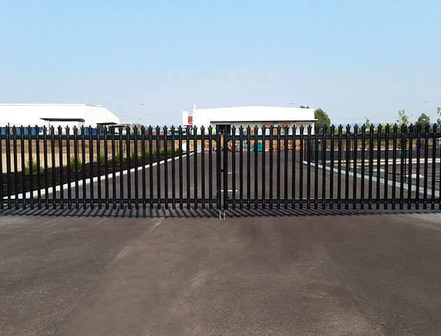 ultra palisade security fencing foodbank wa