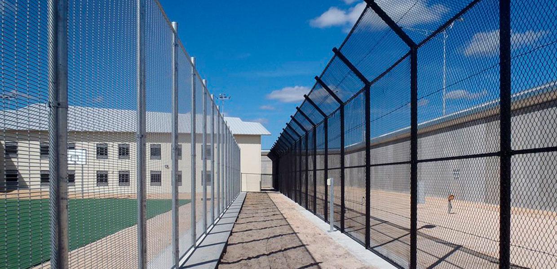 weldmesh fencing hakea prison