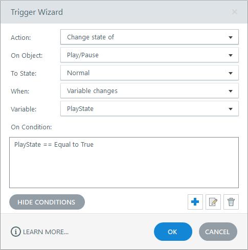 Custom HTML5 timeline for Articulate Storyline 360-Trigger