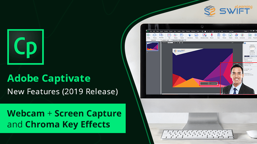 Adobe Captivate 2019: Smart Video Recording with Automatic Chroma Key Effects