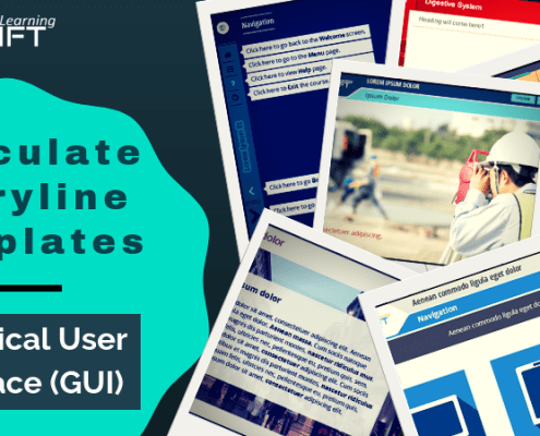 Best Graphical User Interface (GUI) Templates for Articulate Storyline Development