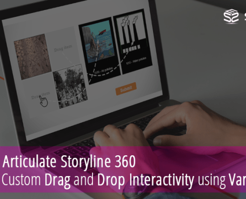 Articulate Storyline 360: Custom Drag and Drop Interactivity using Variables