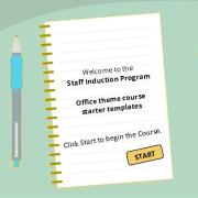 Staff Induction Program - Office theme template