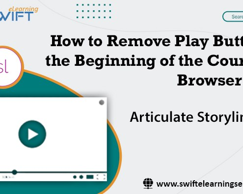 how to remove play button in storyline
