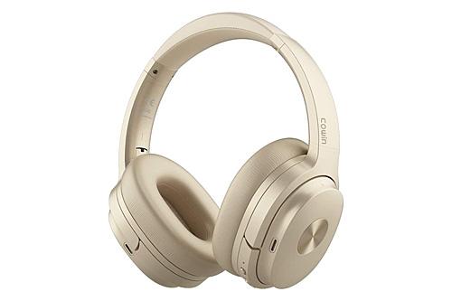 Cowin SE7 Noise Cancelling Headphones - Gold
