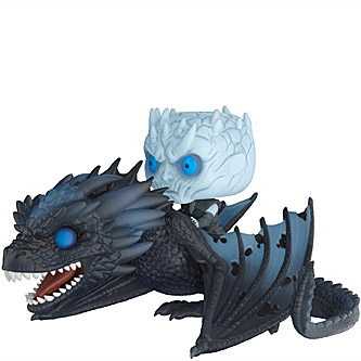 Funko Pop Game of Thrones 58 Night King and Icy Viserion