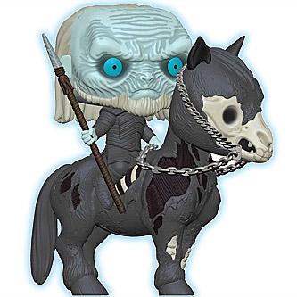 Funko Pop Game of Thrones 60 Mounted White Walker Glow in the Dark