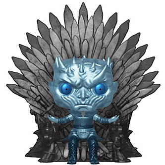 Funko Pop Game of Thrones 74 Night King on the Iron Throne Metallic
