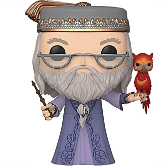Funko Pop Harry Potter 110 Albus Dumbledore with Fawkes