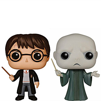 Funko Pop Harry Potter 2 Pack Harry Potter and Lord Voldemort