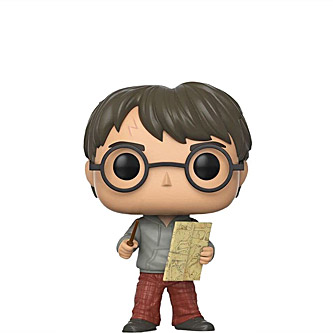 Funko Pop Harry Potter 42 Harry Potter with Marauders Map