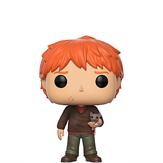 Funko Pop Harry Potter 44 Ron Weasley with Scabbers