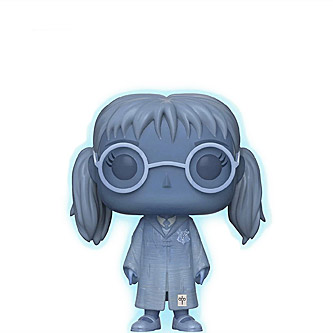 Funko Pop Harry Potter 61 Moaning Myrtle Glow in the Dark Translucent