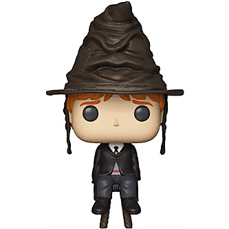 Funko Pop Harry Potter 72 Ron Weasley with Sorting Hat
