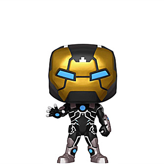 Funko Pop Marvel 80th Anniversary 555 Iron Man Model 39
