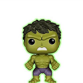 Funko Pop Marvel Avengers Age of Ultron 68 Hulk Glow in the Dark