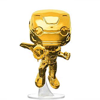 Funko Pop Marvel Avengers Infinity War 285 Iron Man Gold Chrome