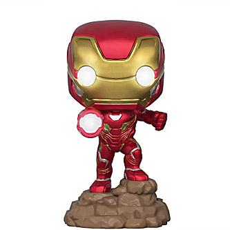 Funko Pop Marvel Avengers Infinity War 380 Iron Man Light Up Special Edition