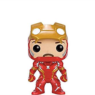 Funko Pop Marvel Captain America Civil War 136 Iron Man Unmasked