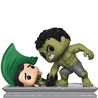 Funko Pop Marvel Studios 362 Hulk Smashing Loki Movie Moments