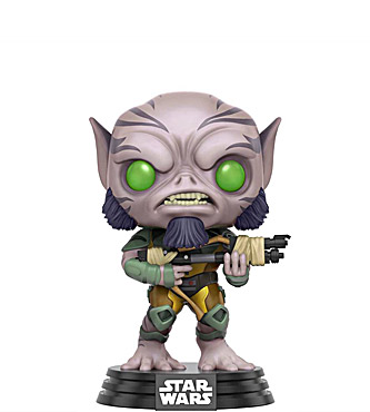 Funko Pop Star Wars Rebels 137 Zeb