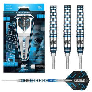 TARGET PAUL LIM GEN 2 90% TUNGSTEN DARTS - 22gm