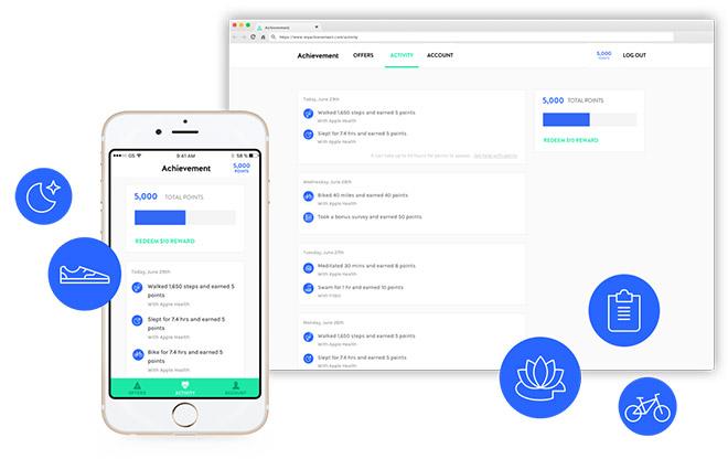 Achievement app showcase